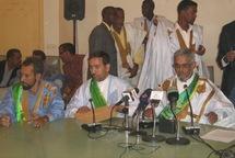 Députés du FNDD boycottant la session parlementaire ordinaire 2008-2009: