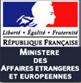 Déclaration du ministère français des Affaires étrangères