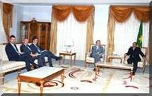 Le Président du HCE reçoit les ambassadeurs de l'UE accrédités à Nouakchott