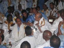 Lemden : Ould Cheikh Abdallahi n'a pas prononcé de discours au cours de la réception qu'il a organisé le 28 novembre.