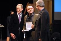 "Bono ""Homme de la paix 2008"""