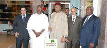 La Délégation du Front reçue par le Président Nigérien