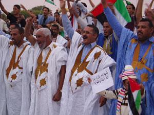 Pro et anti-putschistes marchent ensemble pour la Palestine et contre les attaques israéliens sur Gaza
