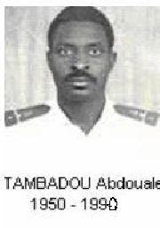 Lt Tambadou Abdoulaye fusillé par le colonel ould Maguett inspecteur général des forces armées et membre du HCE,bras droit du Général putschiste Aziz ...photo et commentaire ,AVOMM