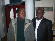 Mr Ba Kassoum Sidiki à gauche et  Mr SY Hamdou Rabbi à droite