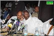 Come-back du président Sidi : le FNDD reprend l'initiative.