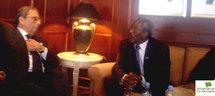 Le Président de l'Assemblée expose la proposition de sortie de crise du Président de la République à Addis Abeba