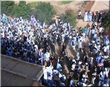 Des étudiants arrêtés