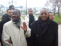 Au premier plan, Mr Baba Maréga fndd et Kane Harouna AVOMM