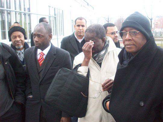 Manifestion de Paris contre la junte militaire en Mauritanie.