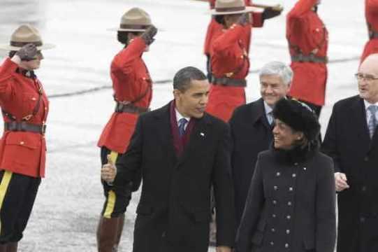 Obama a invité Michaëlle Jean à Washington