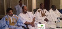 Quelques dirigeants du Front lors de la conférence de presse d'aujourd'hui (23 Févrie 2009)
