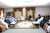 Le chef de la junte reçoit la proposition définitive pour le règlement du passif humanitaire