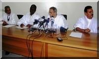 Conférence de presse du RFD:«Nous n'accepterons pas le fait accompli ni d'agenda annoncé de façon unilatérale».