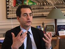 M.Eric Chevalier, le porte-parole des AE