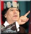 Mouamar Khaddafi déprime les africains.