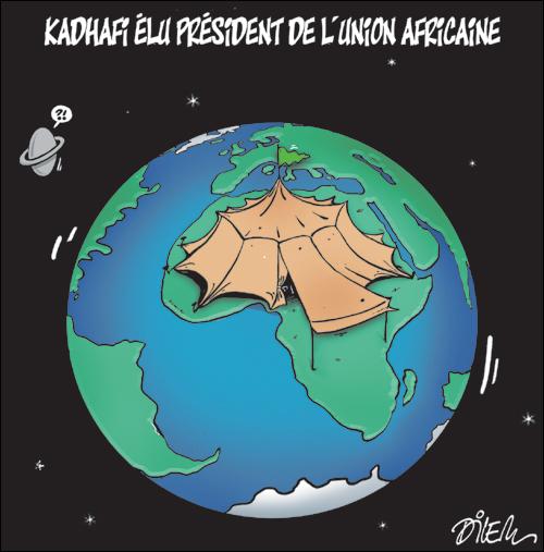 Kadhafi opposé à la limitation des mandats présidentiels en Afrique