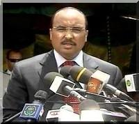 Discours de Mohamed Ould Abdel Aziz à Kaédi