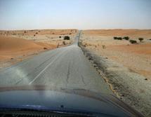 Route de l'espoir vers Lemden