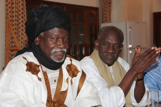 Mr Boubacar Messoud et Mr Sarr Mamadou