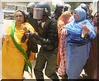 La police réprime une manifestation conjointe des femmes du FNDD et du RFD