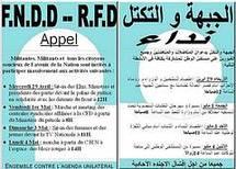 FNDD - RFD: Appel