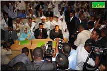 L'ex-président du Haut conseil d'Etat en Mauritanie intègre un parti politique