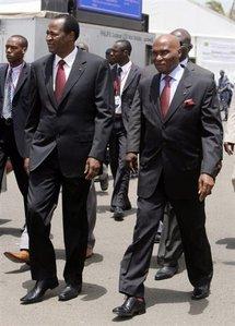 Wade et Ping à Nouakchott pour une journée de médiation