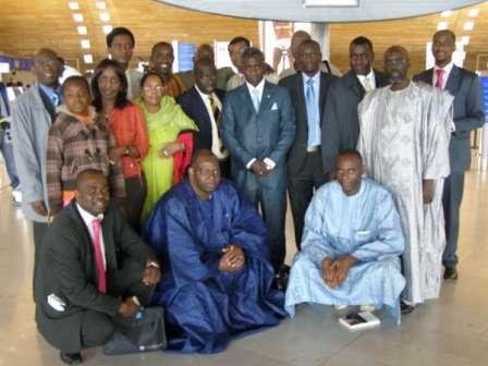Photos départ : Ibrahima Moctar SARR cet après-midi Paris pour Nouakchott