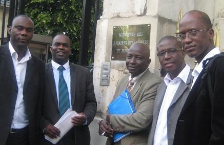 Le Directoire de campagne d'Ibrahima Moctar SARR en France a été reçu au Ministère des Affaires Etrangères