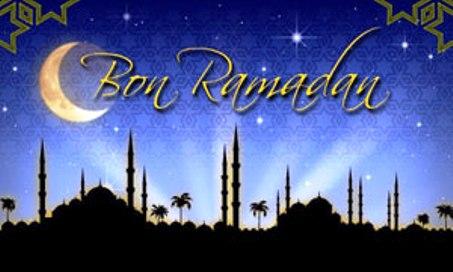 Bon Ramadan aux militants de l'AVOMM et à la Oumma Islamique.