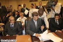 Accord (intégral) du 2 juin entre partis politiques mauritaniens obtenu à Dakar