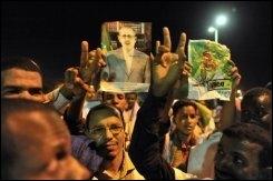 Des partisans de la coalition anti-putch le 3 juin 2009 à Nouakchott