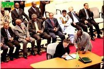 Mauritanie: un accord de sortie de crise signé 10 mois après le putsch