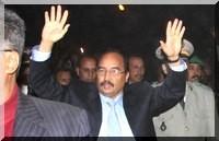 Ould Abdel Aziz a reçu Mr Louleid Ould Weddad et Mr Kaba Ould Elewa.