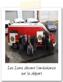 Les Lions envoient une ambulance en Mauritanie (Rosso)