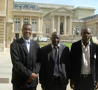 Ousmane Diagana, Tidiane Koita et Moulaye Dioum