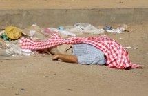 Photo supposée être celle d'un Américain tué par balles à Nouakchott, le 23 juin 2009 (AFP)