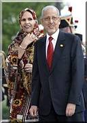 Sidi Ould Cheikh Abdallahi arrive à Nouakchott