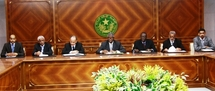 Première réunion du Gouvernement de transition