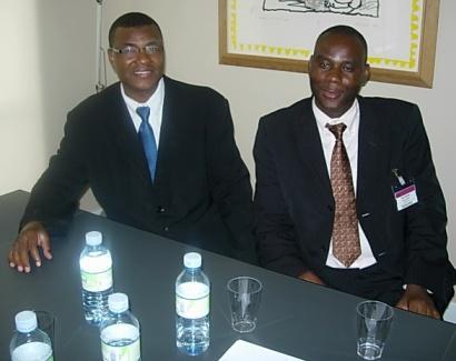 Une délégation du directoire de campagne reçue à la Commission des Affaires Etrangères