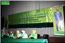 Tawassoul : les femmes de la réforme pour le candidat de la reforme [Reportage Photos]