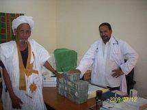 Mohamed Ould Abdel Aziz tient promesse: 10.000.000 UM cash pour l'hôpital de Tidjikja