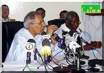 Ahmed Ould Daddah «Il y a eu un vote d'électeurs étrangers et même peut être d'OVNI.».