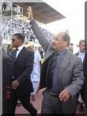 Mohamed ould Abdel Aziz a prêté serment devant le peuple.
