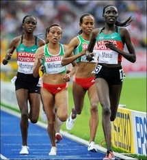 10.000 m dames: l'or pour la jeune Kényane Masai