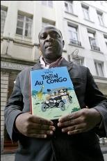 """Un Congolais réclame l'interdition de """"Tintin au Congo"""" en France"""