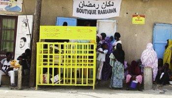 Une épicierie dans le quartier d'El-Mina, à Nouakchott