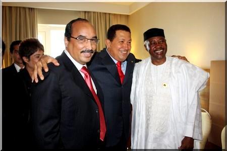 Chavez-Aziz-Toumani en Libye