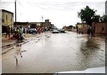 Pluie à Nouakchott: Plusieurs quartiers envahis par les eaux